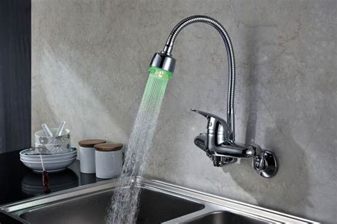 wall mount kitchen faucet with spray   How to Choose the Best Wall Mount Kitchen Faucet