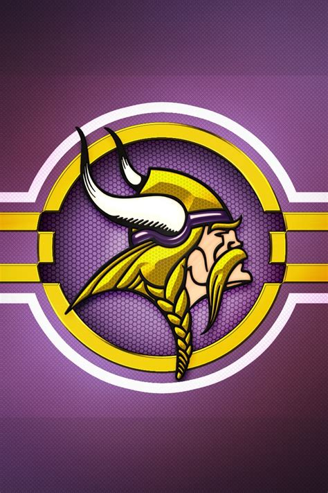 wallpaper iphone 6 vikings minnesota vikings logo download iphone ipod touch
