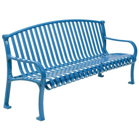 outdoor steel benches outdoor metal benches