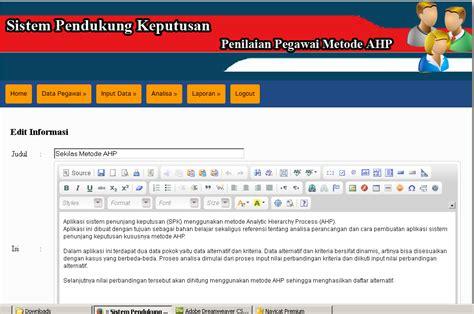 Kumpulan Kasus Penyakit Mulut contoh source code program metode ahp study kasus penilaian pegawai kumpulan aplikasi sistem