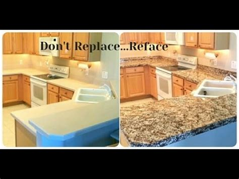 How To Refinish Kitchen Countertops Yourself by Refinish Your Countertops
