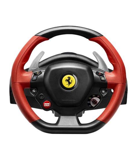 Buy Thrustmaster Italia Racing Wheel Thrustmaster 458 Spider Racing Wheel For Xbox