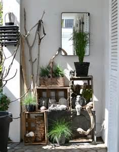 dekoideen terrasse look pimp your room terrassen styling mit weinkistenregal