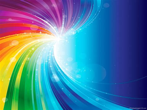 Colorful Free Christian Images Rainbow Background For Powerpoint