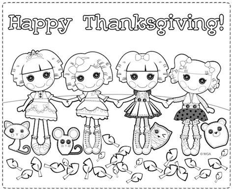 lalaloopsy thanksgiving coloring page free coloring pages of lalaloopsy sheets