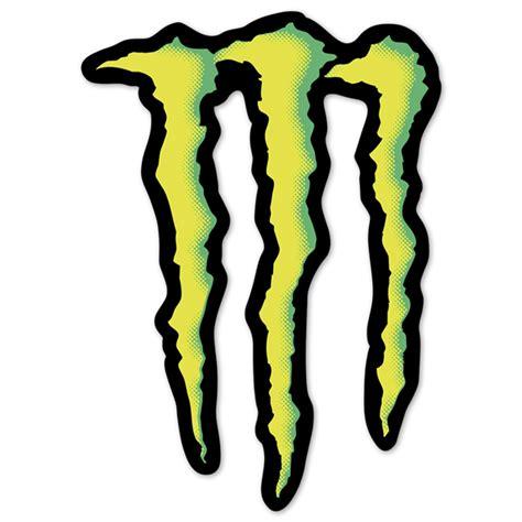 Monster Logo Aufkleber by Aufkleber Monster Energy Logo Webwandtattoo