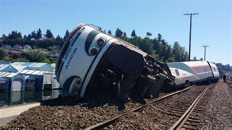 boat crash vancouver wa king5 amtrak derailment caused by human error speed
