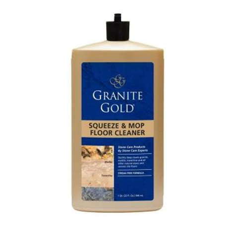 granite gold 32 oz squeeze and mop floor cleaner gg0046
