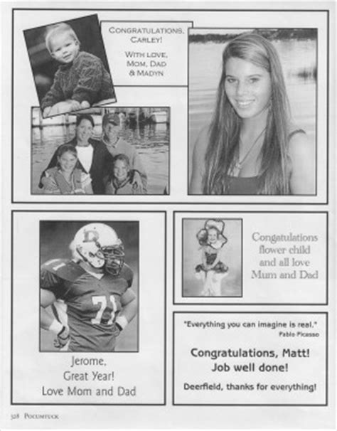 quotes  yearbook ads quotesgram