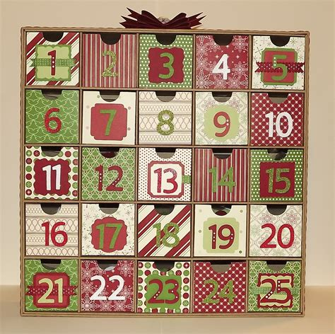 christmas advent calendars calendar template 2016
