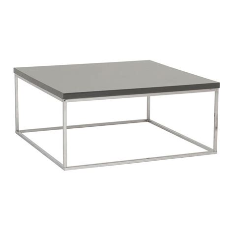 gray square coffee table modern coffee tables ted square coffee table eurway