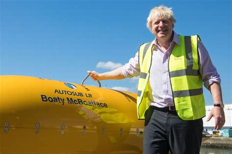 boaty mcboatface boris johnson just met boaty mcboatface and obviously the