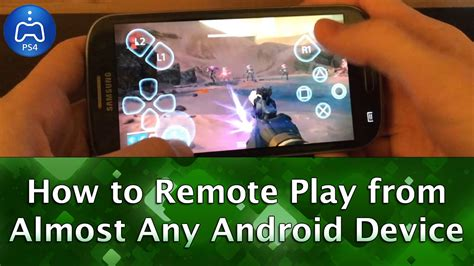 remote play for android how to remote play ps4 from almost any android device