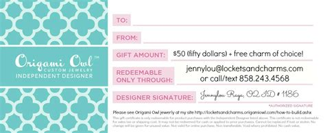 whats an o2 code for origami owl invitations ideas