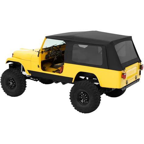 Jeep Cj8 Soft Top 54608 15 Bestop Supertop Classic Soft Top Black For Jeep