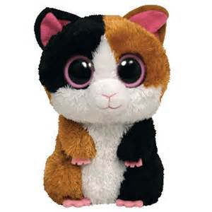 ty beanie boos nibbles guinea pig solid eye color
