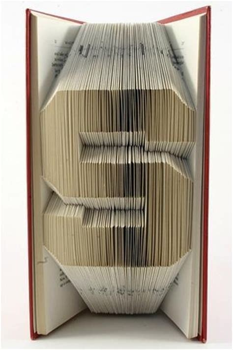 book origami letters fastidious book cut or folded 171 bookmaking
