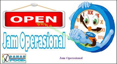 jam operasional danar food semarang