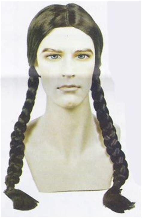 navajo braid braided native american wig