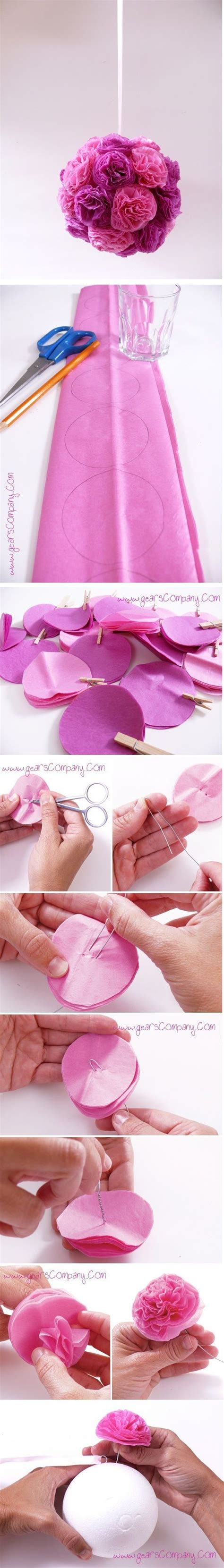 Paper Craft Decoration Home 25 Best Ideas About Paper Flower On Tissue Paper Flowers Easy Paper Flowers