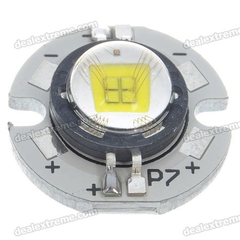 Led Emitter ssc p7 c bin led emitter with 21mm heat sink base 3 6v 3 7v free shipping dealextreme