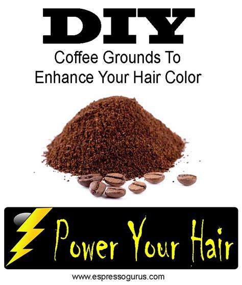 color hair with coffee how to use coffee to color dye grow shine add depth