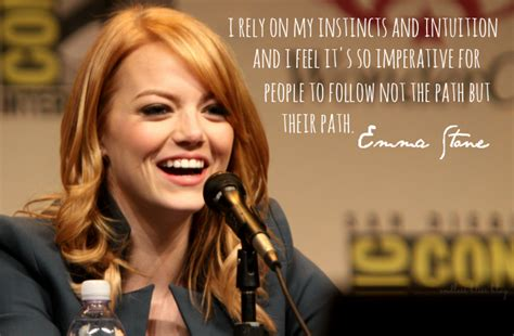 emma stone quotes pinterest emma stone famous quotes quotesgram
