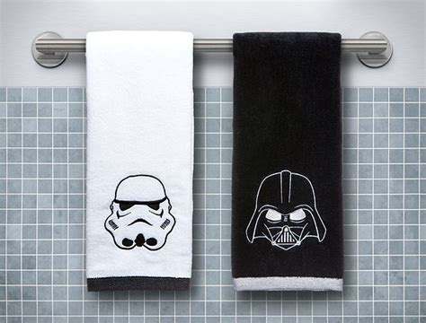 wars bathroom accessories wars towel set darth vader stormtrooper