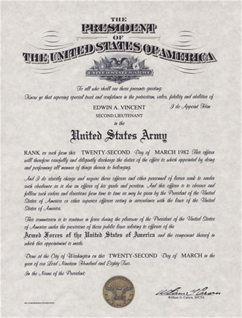 army promotion certificate template officer s promotion certificate form dd 1