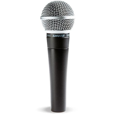 shure sm58 dynamic handheld vocal microphone guitar center