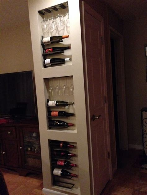 how to build a wine rack in a cabinet top 25 best built in wine rack ideas on
