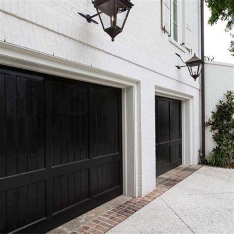 Black Garage Doors 25 Best Ideas About Black Garage Doors On Home Garage Garage Door Colors And