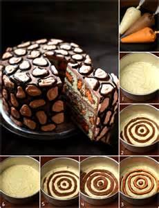 leoparden kuchen rezept leopard cake recipe diy cozy home