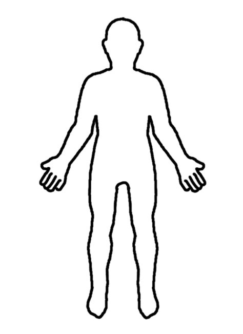 Person Outline Clip by Person Outline Clipart Best
