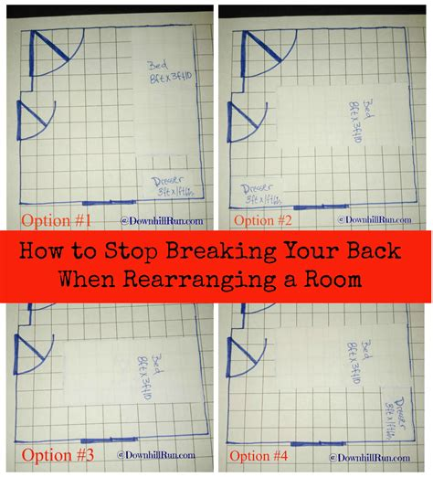 room layout grid how to stop breaking your back when rearranging a room downhill run