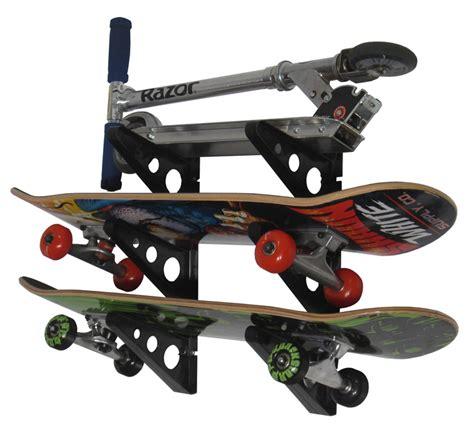 Skate Board Rack by Skateboard Storage Rack Rack Storeyourboard