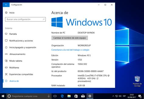 imagenes del windows 10 gu 237 a completa para probar windows 10 s en cualquier pc