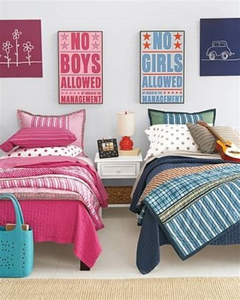 shared bedrooms 12 blue and pink shared kids rooms kidsomania