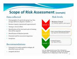 credit risk assessment template a risk management driven deployment framework for project