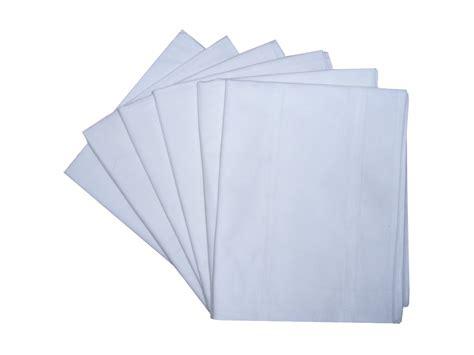100 cotton bolster pillow cover 19 quot x 54 quot white ebay
