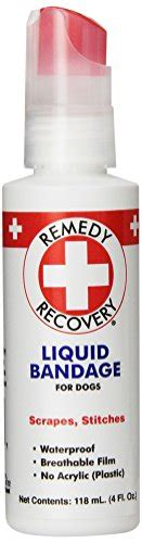 liquid bandage for dogs remedy recovery liquid bandage for dogs 4 ounce import it all