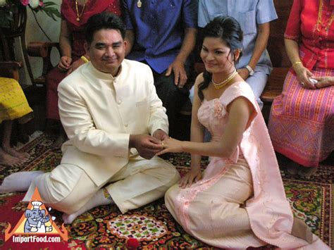 Thai Wedding by The Traditonal Thai Wedding And The Of Food In The