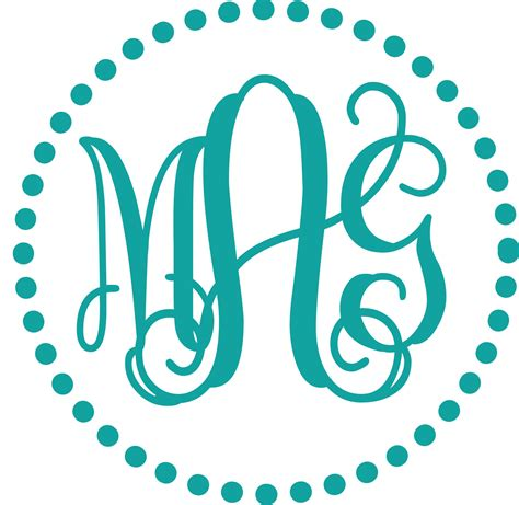 monogram ideas free monogram fonts for vinyl wow com image results