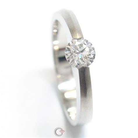Verlobungsring Brillant by Brillant Damen Verlobungsring In Wei 223 Gold Schmuckpforte De