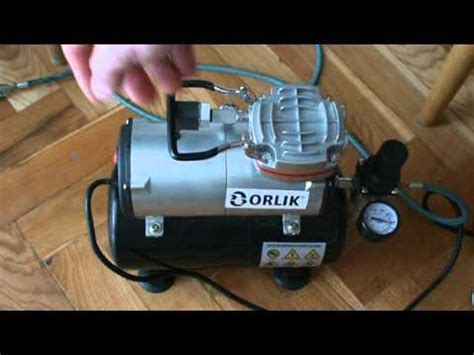 airbrush compressor  review youtube