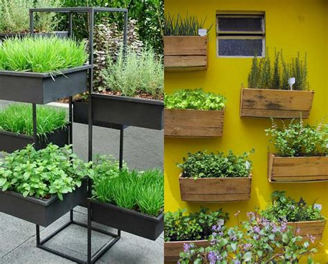 mini herb garden 5 ideias de como fazer uma mini horta para a sua casa
