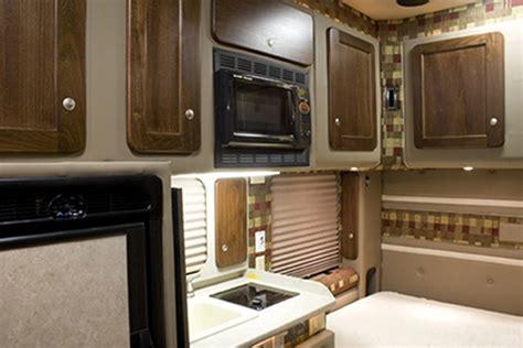 semi truck sleeper cabinets integrated tractor trailer sleeper cab bolt custom trucks