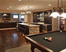 Basement Designs by Basement Entertainment Area