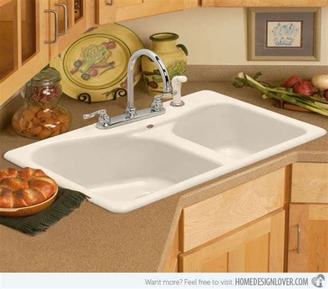 Kitchen Counter Designs 15 cool corner kitchen sink designs home design lover