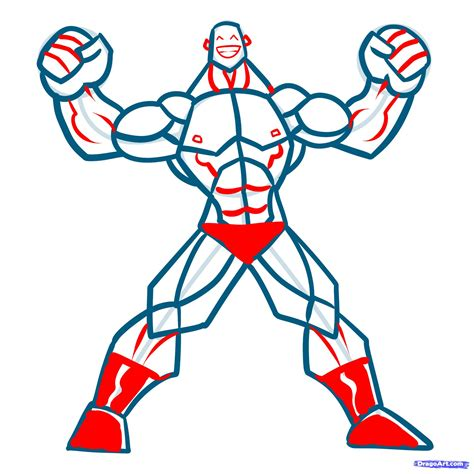 how to draw muscles step 11 how to draw muscles